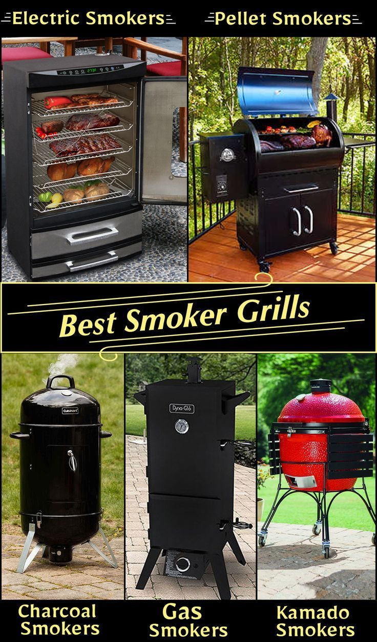 Best Smoker Grills - Reviews & Buyer's Guide (May 2019) in