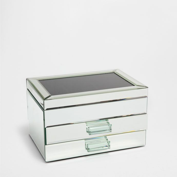 Æske med spejl og skuffer - KASSER - UDSMYKNING | Zara Home Danmark
