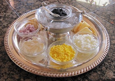 Classic Caviar Plate makes a very elegant, glamorous, and delicious appetizer…