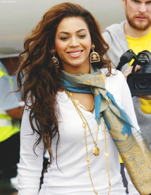 Dark Beyonce Hair Color 2014