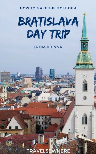 How to Make the Most of a Day Trip to Bratislava from Vienna, via @travelsewhere
