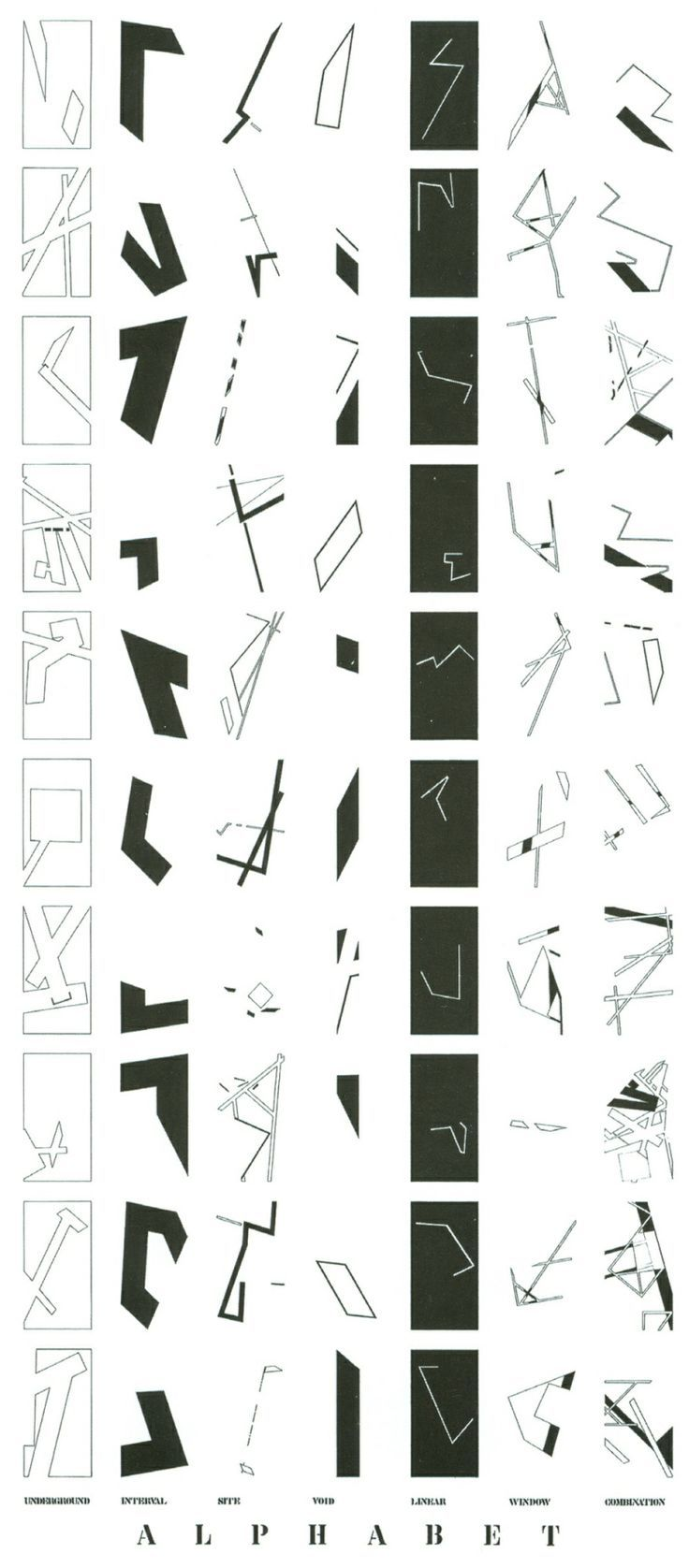 peter eisenman alphabet jewish museum google search drawings pinterest peter eisenman. Black Bedroom Furniture Sets. Home Design Ideas