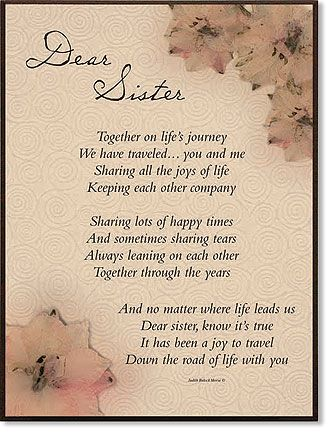 Image detail for -dear sister praise plaque item number ld445 price $ 19 75 order here ...