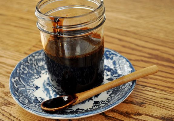 How to make reduced balsamic glaze at home without the sugar or additives!