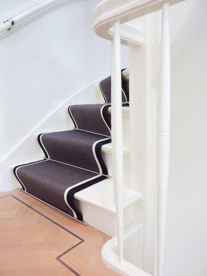 Traploper stairs pinterest - Corridor tapijt ...