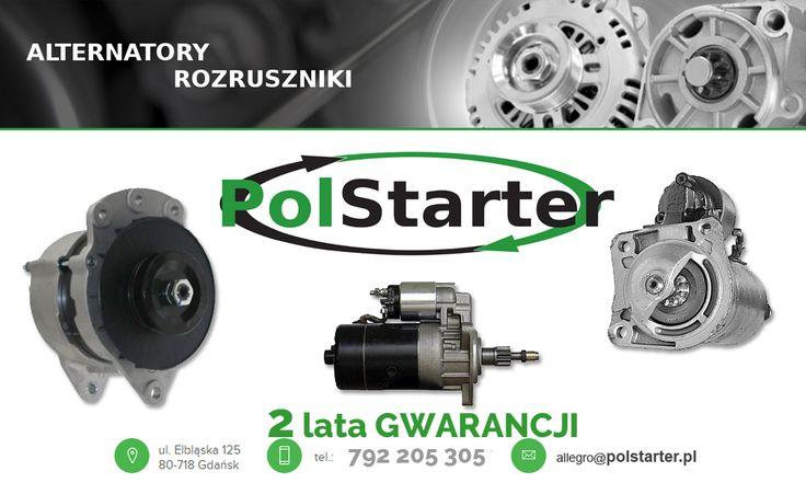 ⚫ W naszej ofercie posiadamy szeroki wybór alternatorów i rozruszników. Zapraszamy do zapoznania się z całą naszą ofertą na http://sklep.polstarter.pl/pl/👌🛒🚗   🚗🚕🚙🚌🏎🚓🚑🚒🚐🚚🚜🚔🚍🚘 ⚫ KONTAKT: 📲 792 205 305 ✉ allegro@polstarter.pl  #alternatorsamochodowy #rozrusznikdoauta #częścizamienne