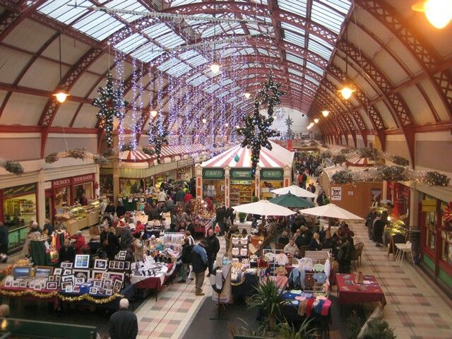 Grainger Market, Newcastle upon Tyne, Food if shopping