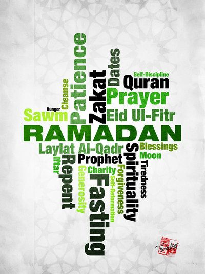 Meaning of Ramadan II by Teakster.deviantart.com on @deviantART