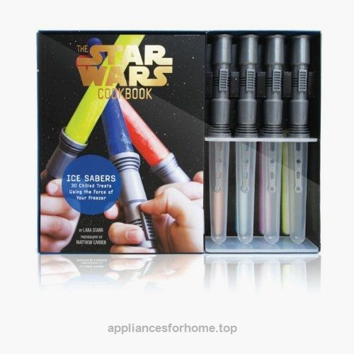 Ice Sabers: 30 Chilled Treats Using the Force of Your Freezer! (Star Wars Cookbook) Check It Out Now     $15.29    Create 30 sweet, chilled treats in this Star Wars-themed cooking kit, from Mos Icely to Qui-Gon Gingerbread Ice Cream ..  http://www.appliancesforhome.top/2017/04/18/ice-sabers-30-chilled-treats-using-the-force-of-your-freezer-star-wars-cookbook-2/