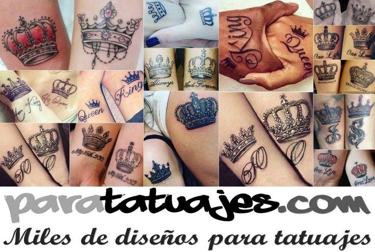 Tatuajes para parejas Muchos ejemplos  Para Tatuajes