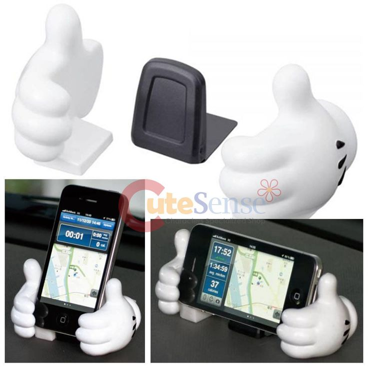 Disney Mickey Mouse Hands Cell Phone Holder Stand Mickey Body Auto Accessories