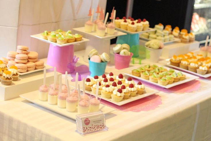 Słodki stół na Wielkanocne przyjęcie