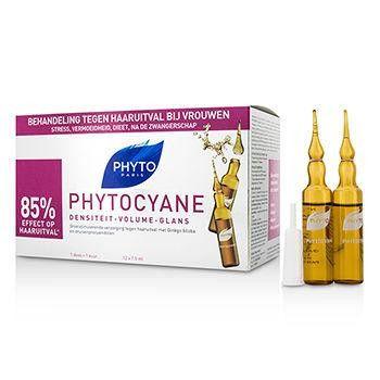 Phytocyane Growth Stimulating Anti-Thinning Hair Treatment (For Thinning Hair - Women) - 12x7.5ml-0.25oz