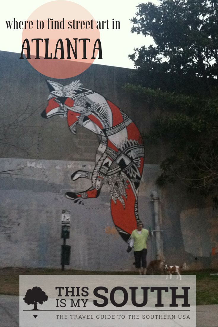 Lovers of street art will appreciate a visit to Atlanta, where the Living Walls Conference has beautified walls of vacant buildings and spaces all over the city. Here are just a few of the neighborhoods where you'll find street art.