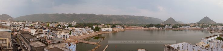 Pushkar Mela - Panorama of Brahma Kund
