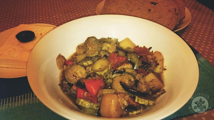 Lemon and Strawberries: Greek roasted vegetables (Briam)