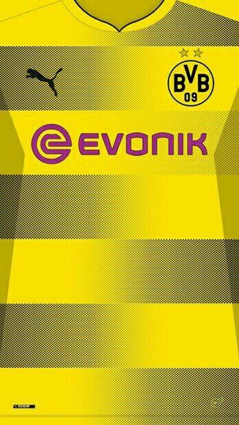 Borussia Dortmund 17-18 kit home