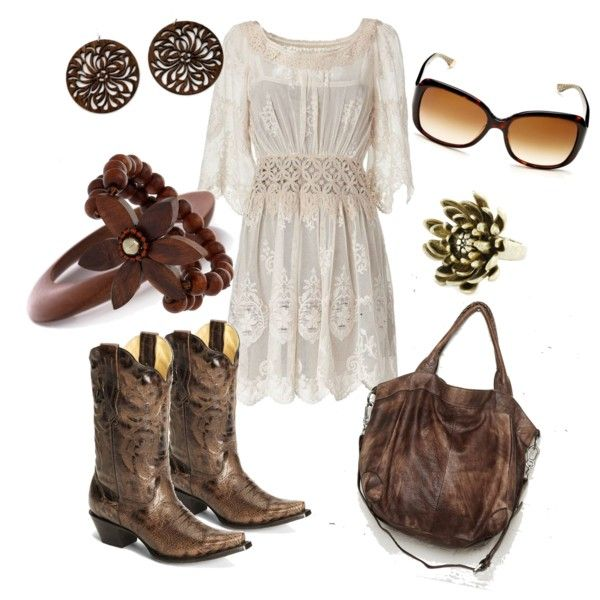 Lace and Boots, created by ambiegirl on Polyvore   # Pinterest++ for iPad #