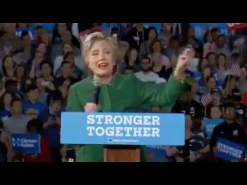 """Hillary Clinton """"Not Accepting Results Of Election Is A Threat To Democracy"""" - YouTube"""