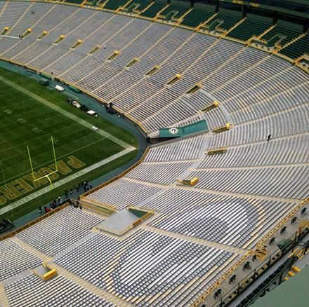 Lambeau... so many good times here! Ford Field has nothing on Lambeau!