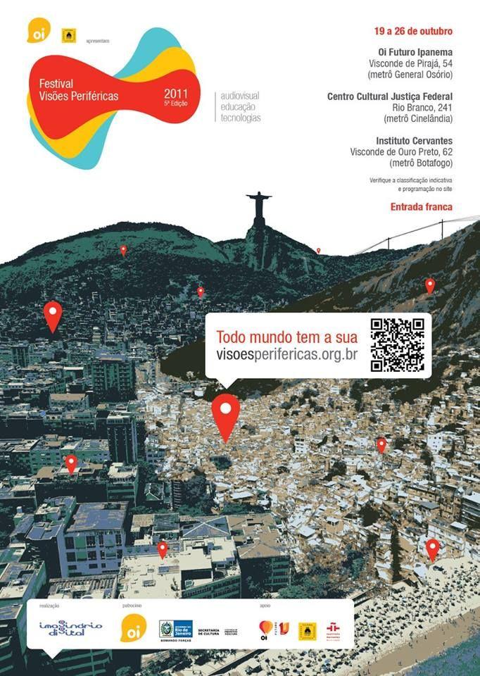 Festival de Visoes Perifericas surge en la fabelas de Brasil.