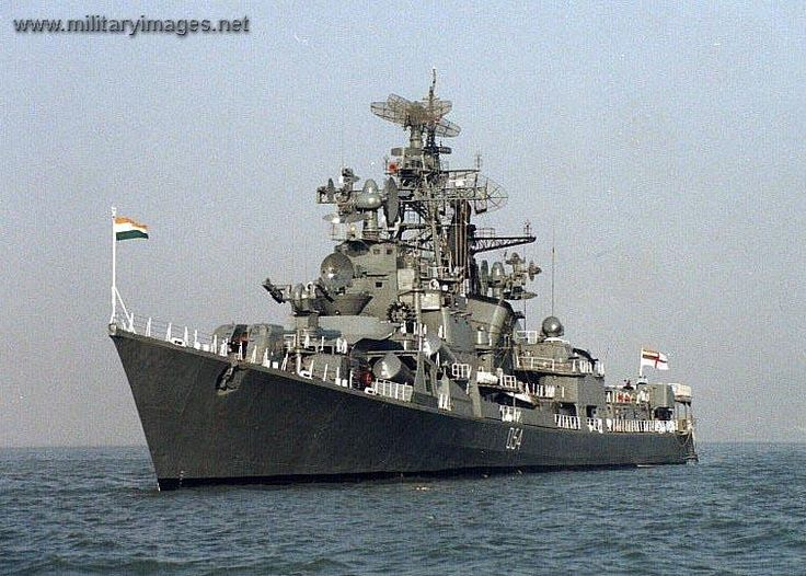 Indian navy destroyer