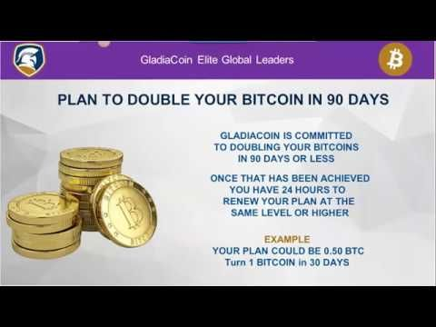 How to earn bitcoins with Gladicoin 2017 2 2% Daily Earned AUTOMATED Dep...