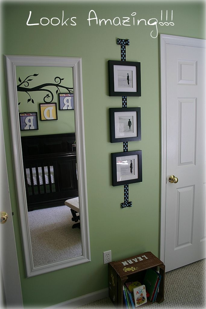 how to frame a mirror with clips great idea for bathroom mirror