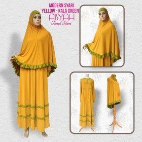 Busana Muslim - Modern Syari Yellow