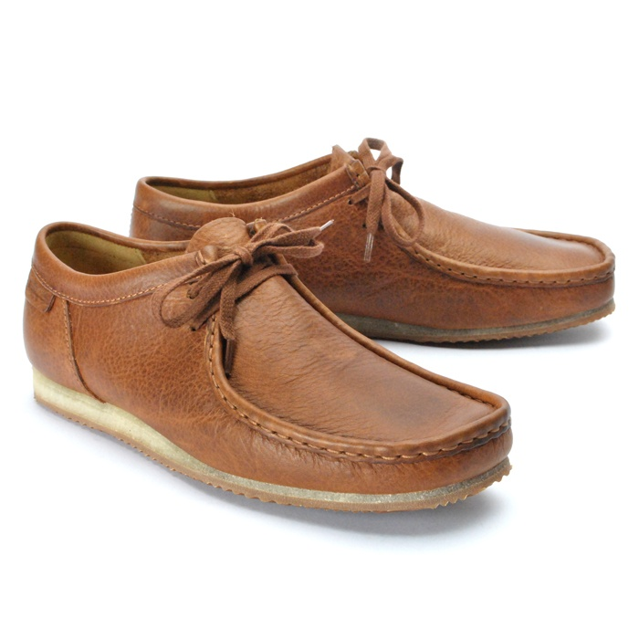 Clarks Originals Wallabee Run Beige Mens Shoes