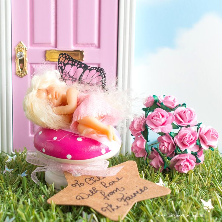 In this blog we share our very favourite handmade Fairies for visiting through your Fairy Door and totally enchanting your little ones.