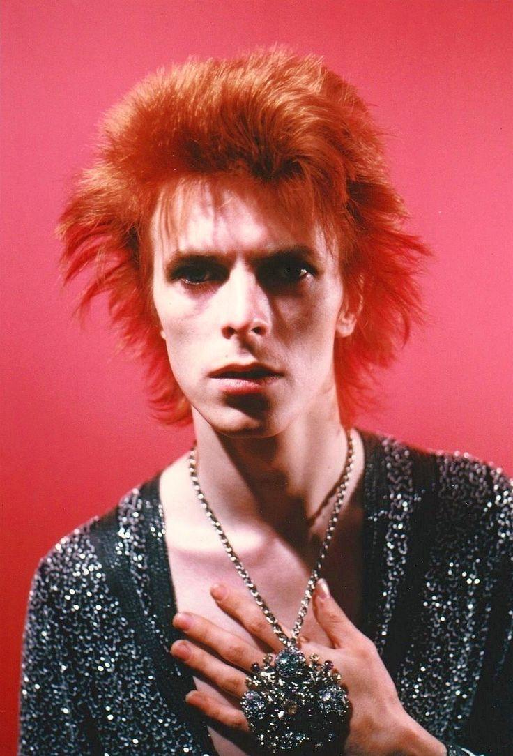 David Bowie by Mick Rock, 1972.