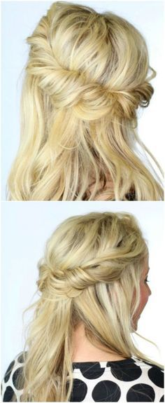 19 LAZY GIRLS FRISUR DIY IDEAS FOR EVERYBODY THAT APPEAR MORNING AND GLARE – #Dark Hairstyles, # HairstylesFor Long Hair, #HairstylesLong, #Fr …