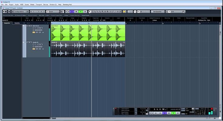 ADSR Pro Quantize audio tracks in Steinberg Cubase 7.5 and creating quan...