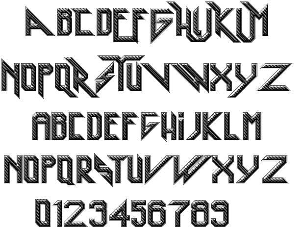 Heavy Metal Rocking font by imagex #fonts #gothic # ...