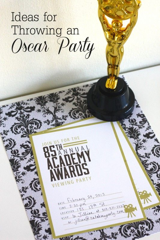 Oscar party ideas blog post #QuesoOccasions #oscars