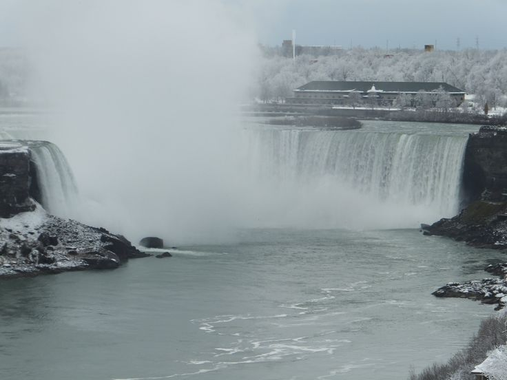 Niagara Falls from the Fallsview Restaurant in the Sheraton on the Falls