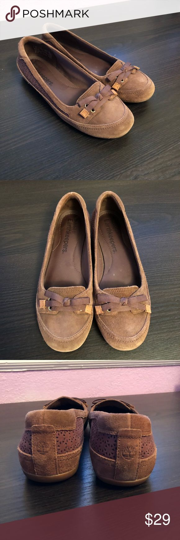 Timberland Earthkeepers Falmouth Suede Shoes Timberland Earthkeepers Falmouth  Womens Slip Ons  Brown Ballerina Suede Shoes  8021R D17 No box. Good condition Timberland Shoes Flats & Loafers