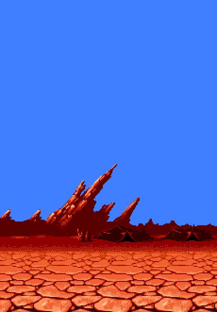 ? Some pixel art desert landscape   Game Design & GUI ...