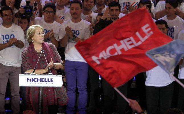 Cierre de campaña de Michelle Bachelet