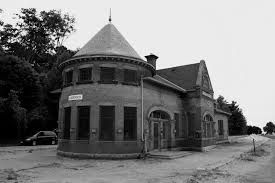 Abandoned railroad station, Goderich, Ontario