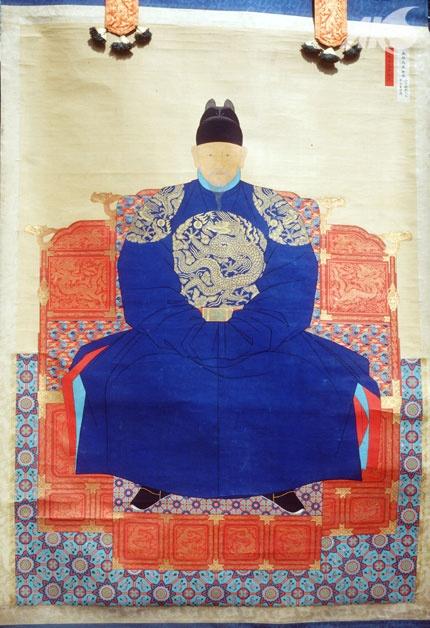 [Middle Ages-Joseon] Portrait of Taejo Lee Seong-gye, founder of Joseon
