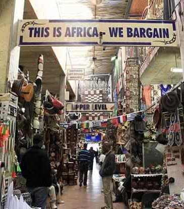 Rosebank Market, Johannesburg. Walking past all the stalls looking at our uniquely South African crafts and artefacts, sifting through art deco originals, balking at the price of French antiques and sampling Polish and Thai cuisine only serve as evidence of our unique rainbow nation.  Markets seem to be a mix of the tacky, strange, exquisite and random goods, which are all well worth a look.