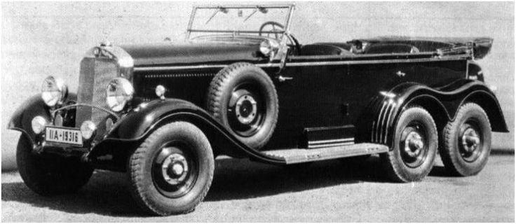 Blog de las Fuerzas de Defensa de la República Argentina: Vehículos de la SGM: Daimler-Benz G4 (Alemania)