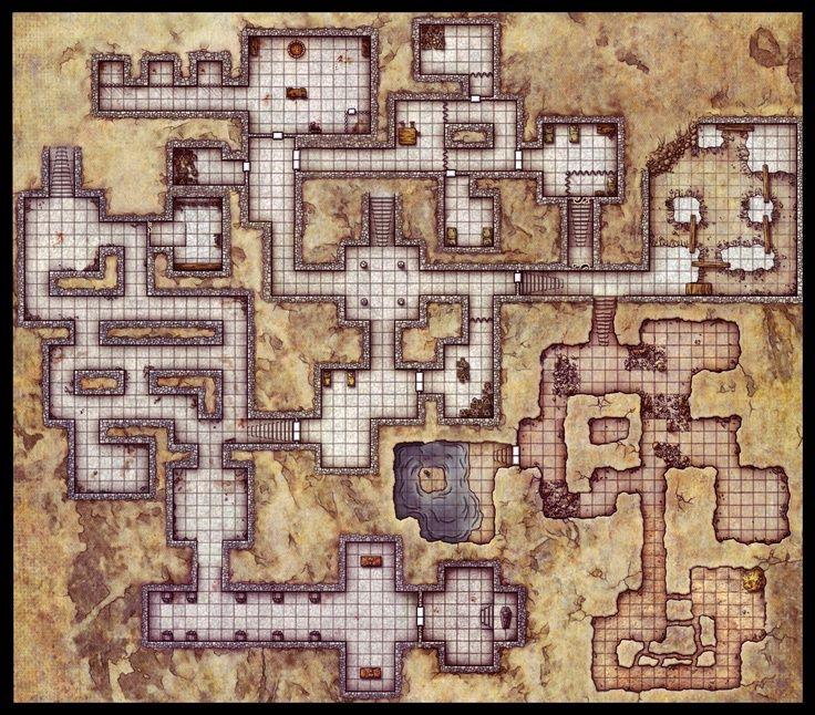 Tomb/Cave Floorplan