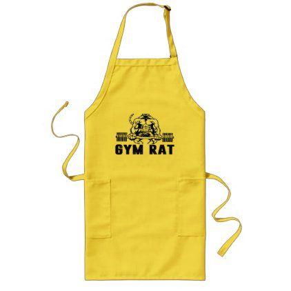 gym rat long apron  home gifts ideas decor special unique