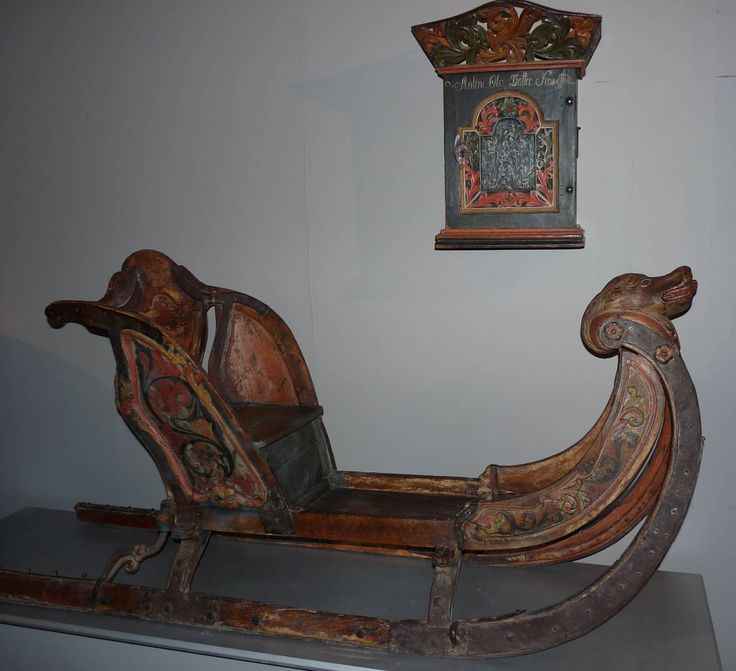 Old Sleigh at Maihaugen Open-Air Museum in Lillehammer in Oppland County, Norway. Maihaugen is one of the largest and oldest in Europe and one of the world's most beautiful open-air museums, with stunning location above Lillehammer town center and lake Mjøsa. http://www.maihaugen.no/   From THE ESSENCE OF THE GOOD LIFE™     http://www.pinterest.com/ConceptDesigner/  https://www.facebook.com/pages/The-Essence-of-the-Good-Life/367136923392157