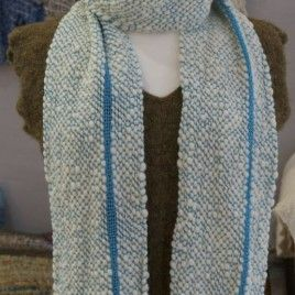 Stratocumulus Handwoven Scarf by Weft Blown