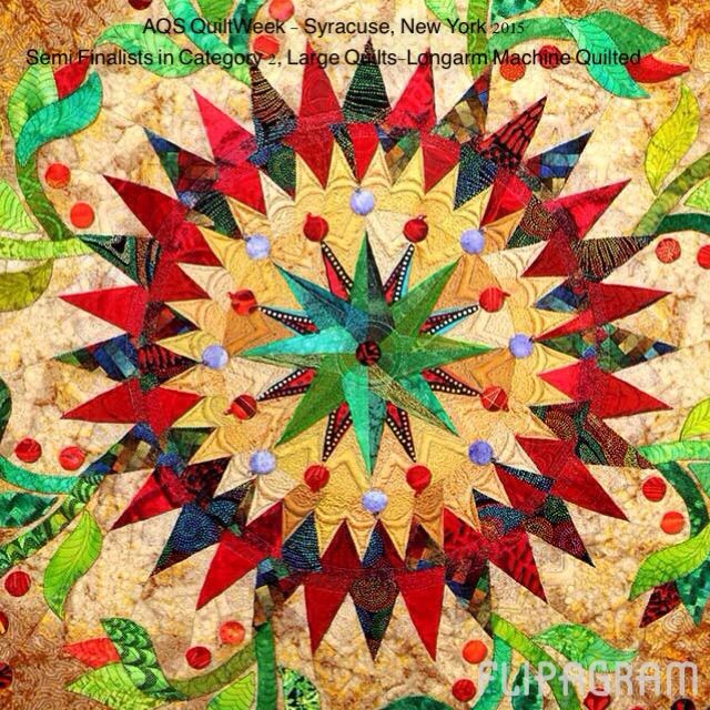 These beautiful quilts will be on display during AQS ...