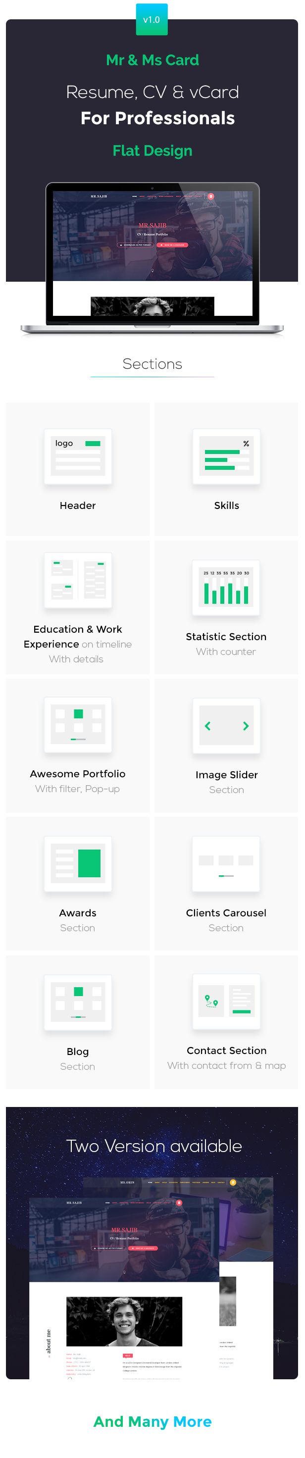 Creative Cv Resume Card Html5 Template Resume Cv Creative Template Html5 Templates Creative Resume Creative Cv